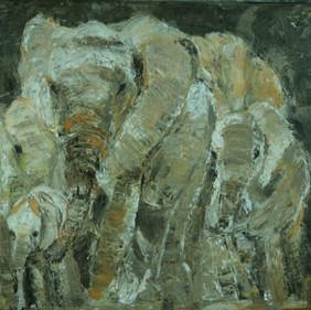 Elephants 2/SOLD