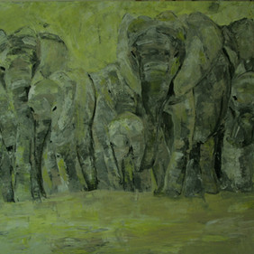 Elephants 1/SOLD