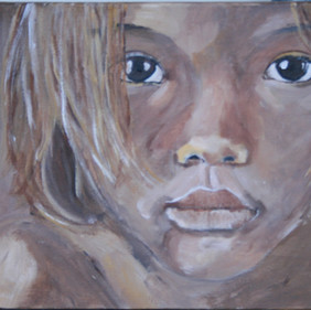 Brown girl 2 / SOLD
