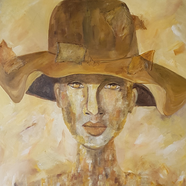 Woman with hat/1
