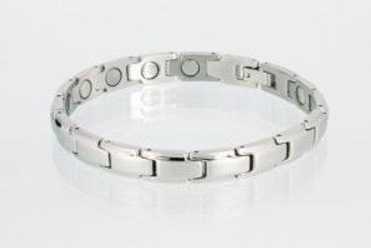 Magnetarmband silber mit extra-starken Magneten