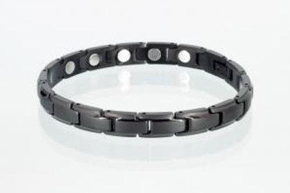 Magnetarmband schwarz mit extra-starken Magneten