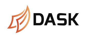 The red and yellow Dask logo
