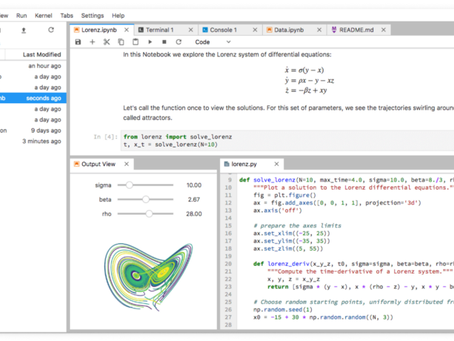 Access your data science: Jupyter