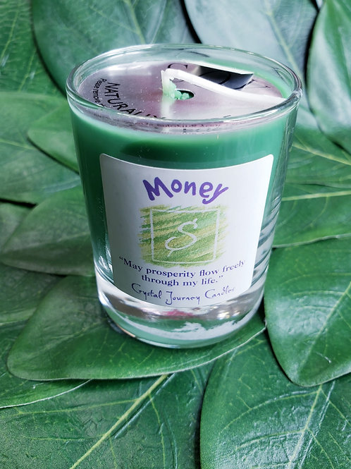 Money Prosperity Candle