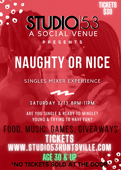 Naughty or Nice Singles Mixer Experience