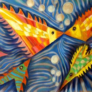 Verliebte Fische