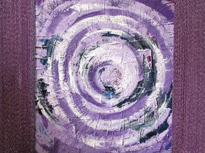 Violettes Mandala
