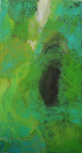 Komposition grün