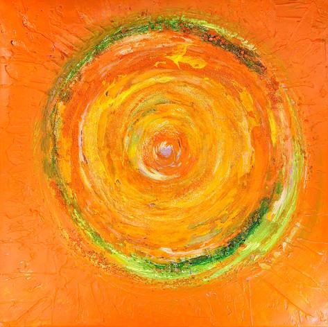 Lebensfreude in Orange