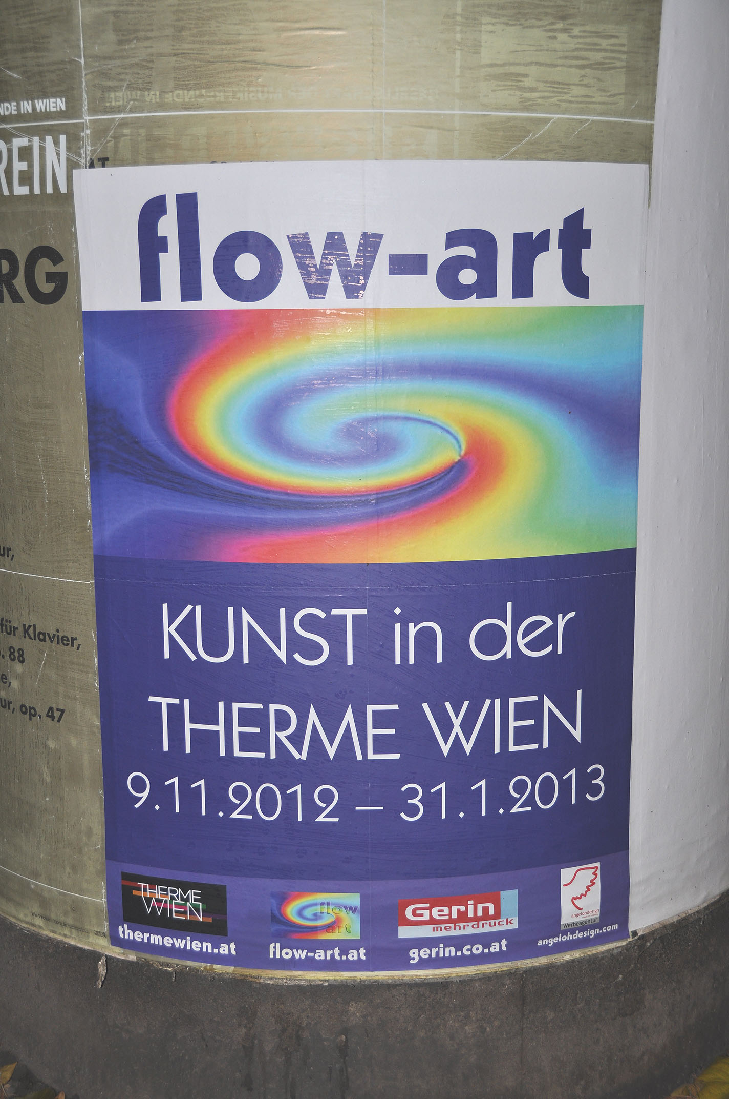 Plakat für Therme Wien