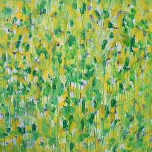 Blüten gelbgrün