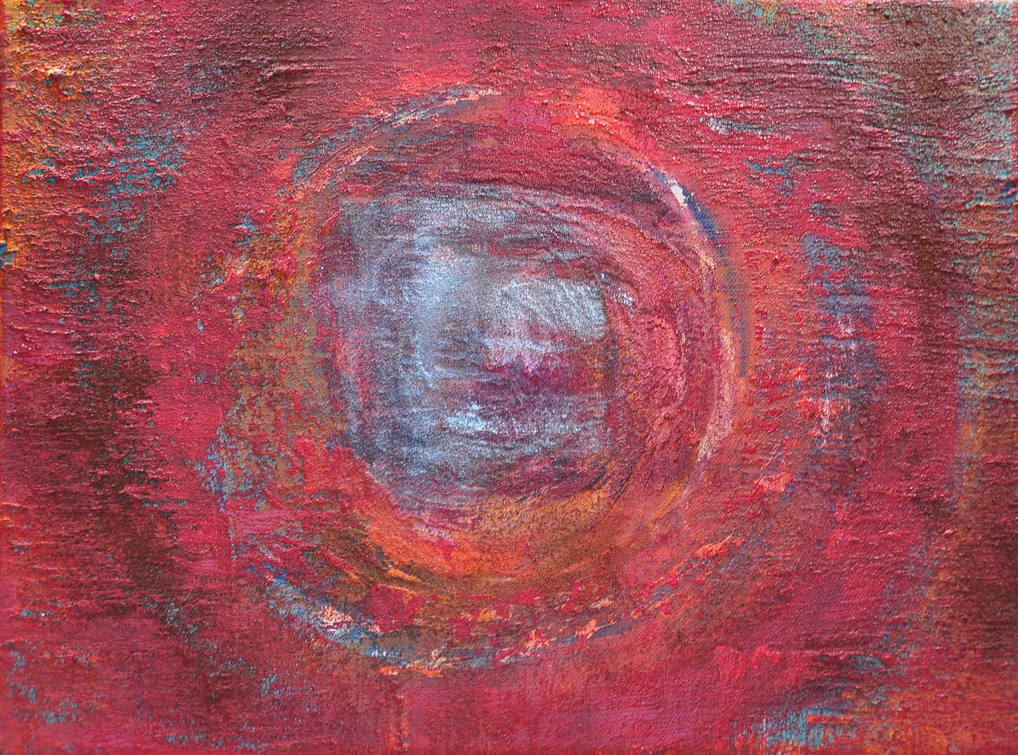 Rotes Mandala