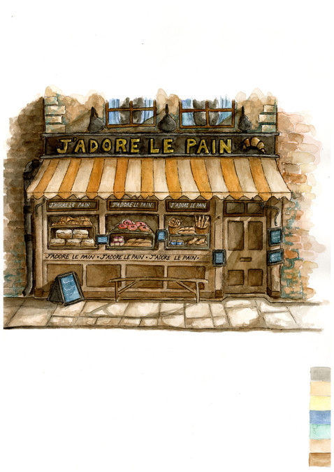 """""""The Bakery"""" by Keith Samantha Monico"""