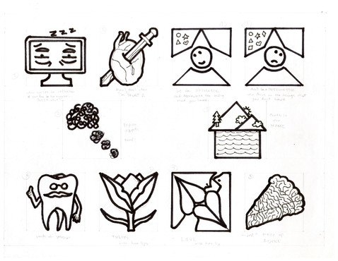 """""""Abstract Icons"""" by Ivy Jelyn Gino"""