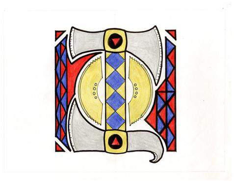 """""""Illuminated Manuscript: I"""" by Ivy Jelyn Gino"""
