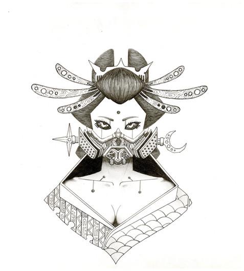 """Cyber Sakura"" by A.G. Gabon"