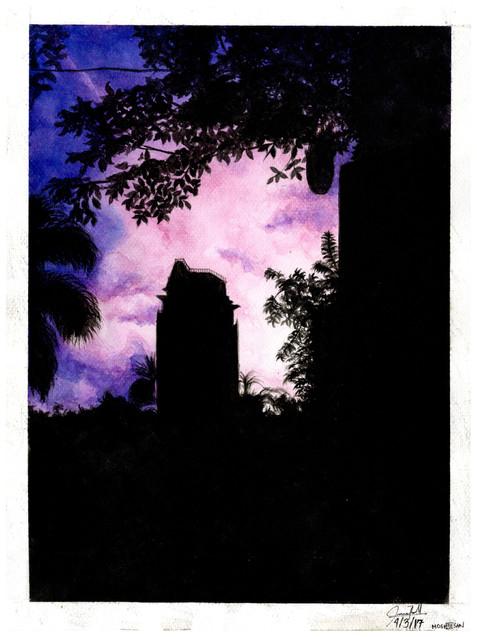"""Sunset"" by Keith Samantha Monico"