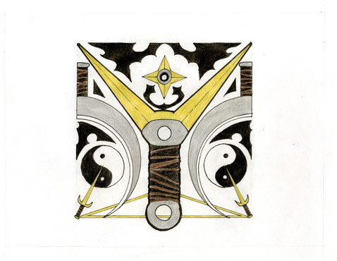"""Illuminated Manuscript: Y"" by Ivy Jelyn Gino"