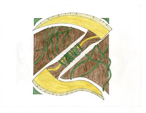 """Illuminated Manuscript: Z"" by Ivy Jelyn Gino"