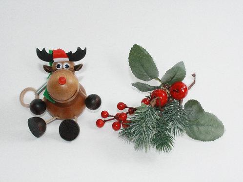 Bouncy Rudolph / Santa
