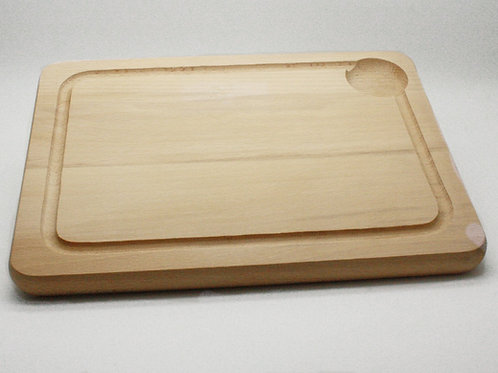 Cutting Board With Groove (Rectangle)