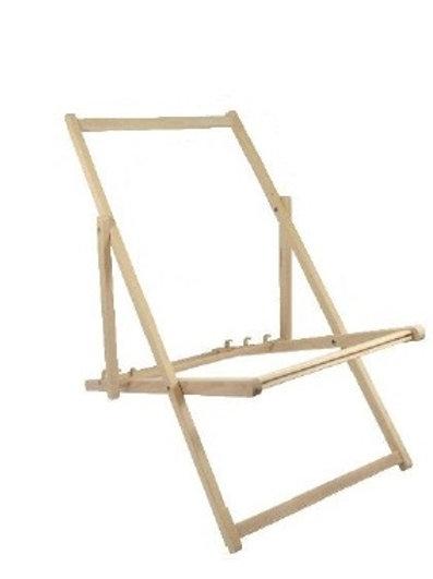 Wooden Deck Chair Frame