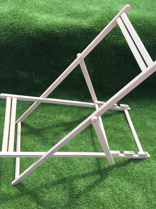 Wooden Deck Chair Frame