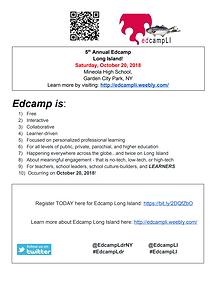 Ed Camp Info