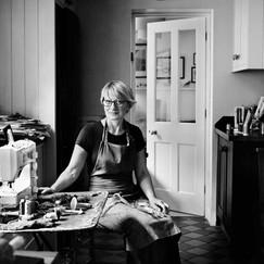 Amanda Cobbett in her studio