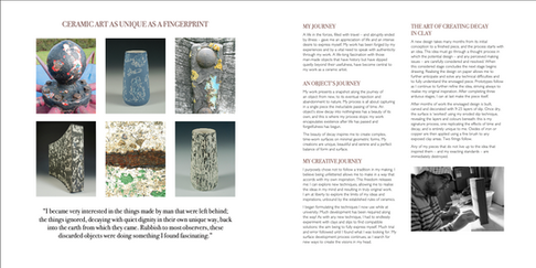 James Faulkner Brochure by Making Goode