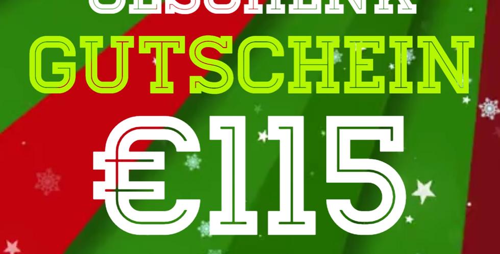 Weihnachtsgutschein 100€