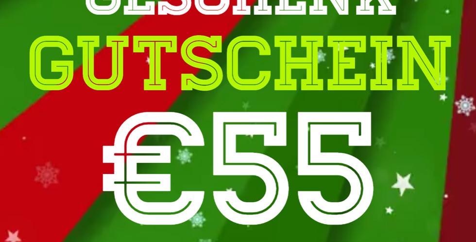 Weihnachtsgutschein 50€