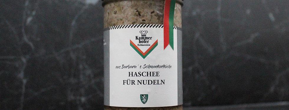 Haschee für Nudeln