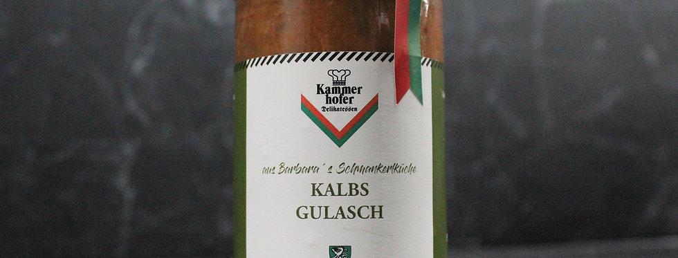 Kalbsgulasch