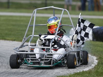 Simpson second ever to three-peat as Purdue Grand Prix winner
