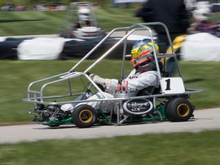 Jimmy Simpson wins his third straight Purdue Grand Prix
