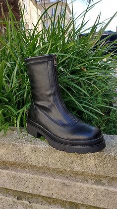 Boots zippée