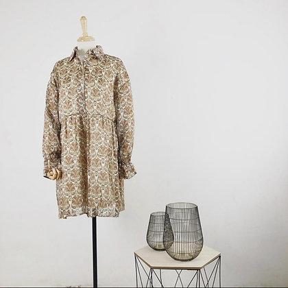 Robe chemise motif cachemire