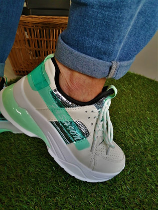 Sneakers menthe