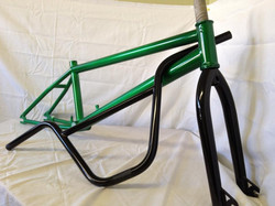 Candy Green and Satin Black
