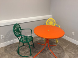 Color Matched Patio Furniture
