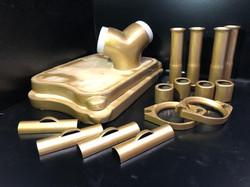 Gold Harley Engine Parts
