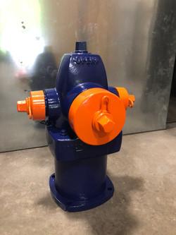 Navy Blue and Super Mirror Orange