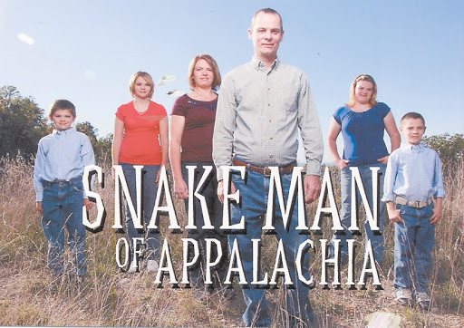 Snake man of Appalachia1