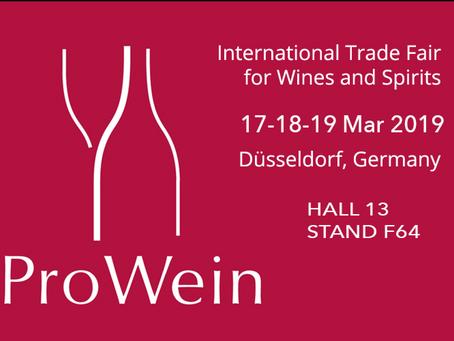 17.18.19 Mar ProWein, Dusseldorf & 21 Mar 2nd European Independent Winegrowers/Producteurs de Vi