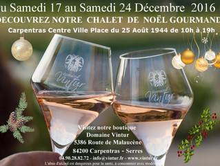 Marché de Noel du 17 au 24 décembre - Carpentras