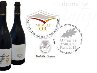 Our 2014 Awarded wines !