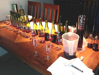 Final blend decided for our 2012 red wines!