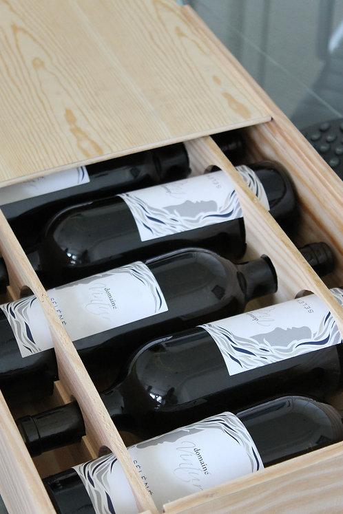 Coffret bois - Vin Blanc Supérieur Selene
